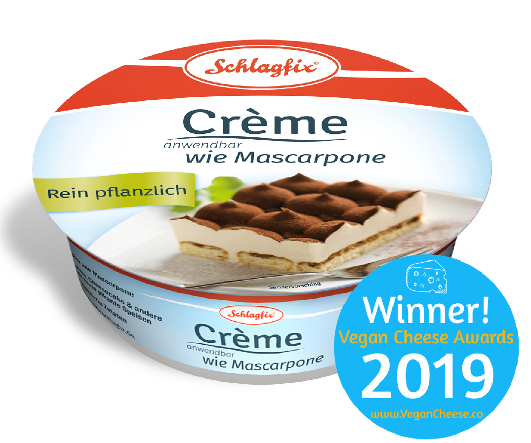 Mascarpone mit Vegan Cheese Award
