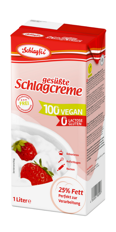 Schlagfix sweetend whipping cream