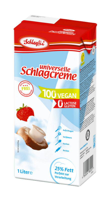 Schlagfix unsweetend whipping cream