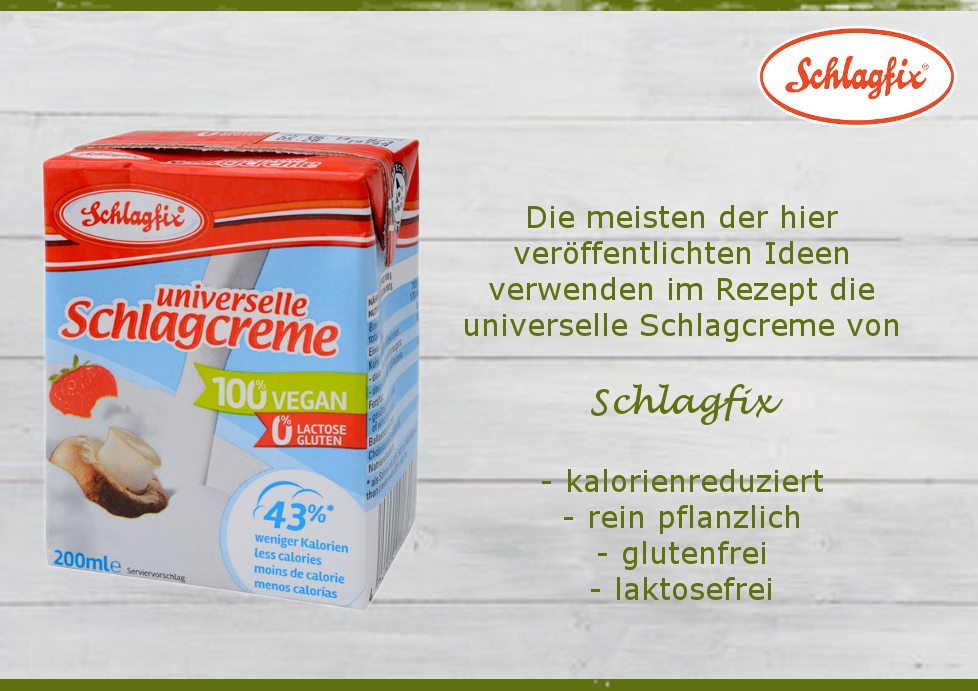 Schlagfix universelle Schlagcreme - ein All-In-One Produkt